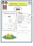 "Mini Booklet of Sight Word ""see"""