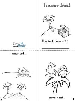 Emergent Reader Mini-Books Freebie