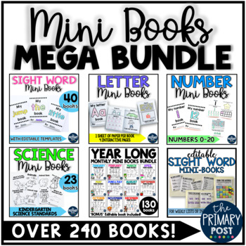 Mini Books MEGA BUNDLE