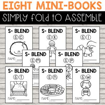 Mini-Books: S Blends