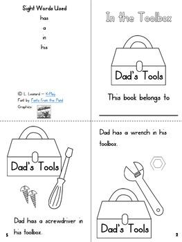 Phonics Mini-Books Sight Words