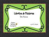 Mini Books Two Syllable Words (Spanish)