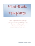 Mini Books and Foldables Templates