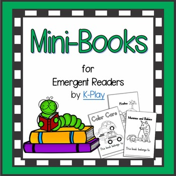 Emergent Readers Mini-Books