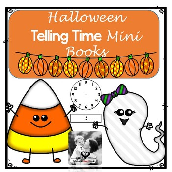 Halloween Telling Time - Math Mini Books