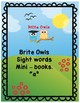 "Mini Book sight word ""a"""