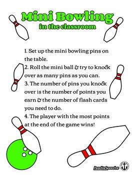 Mini Bowling in the Classroom