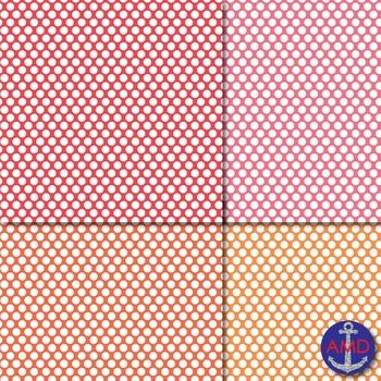 Mini Bright Polka Dot Digital Papers