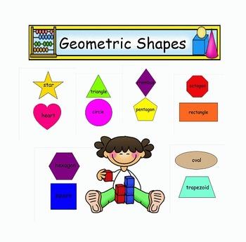 Mini Bulletin Board Geometric Shapes