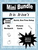 Mini Bundle:  IT IS   IT ISN'T (ELL-ESL-EFL Grammar Speaki