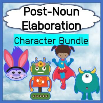 Mini-Bundle Post-Noun Elaboration Characters - Monsters, Heroes, Trolls, Robots