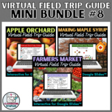 Mini Bundle of Virtual Field Trip Guides for Google Slides