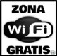 Zona Wifi Gratis * Free Wifi Zone Anaranjado/Negro * Orange/Black: Mini Poster