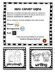 Mini Center Signs black & white