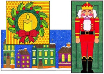 Mini Christmas Murals Two