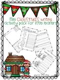 Mini Christmas Writing Activity Pack