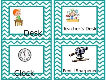 Mini Classroom Labels FREEBIE