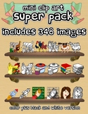 Mini Clip Art - SUPER PACK