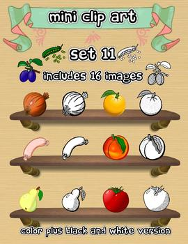 Mini Clip Art - Set 11