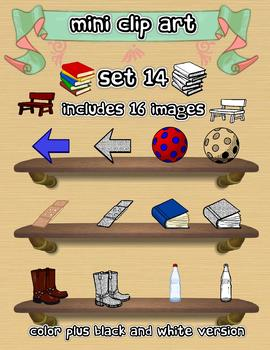 Mini Clip Art - Set 14