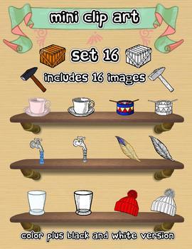 Mini Clip Art - Set 16