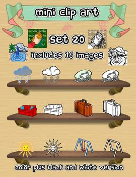 Mini Clip Art - Set 20