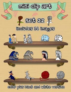 Mini Clip Art - Set 22