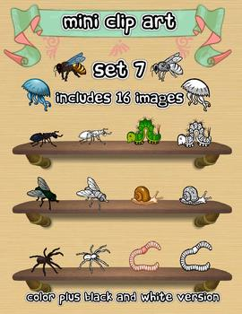 Mini Clip Art - Set 7