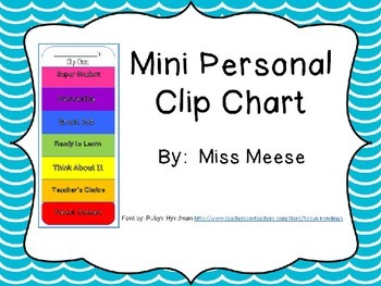 Mini Clip Chart