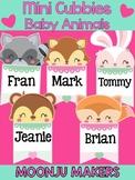 Mini Cubbies : Baby Animals - Moonju Makers Craft Activity