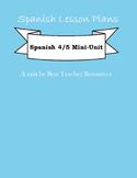 Mini Cultural Mexico Unit Lesson Plan Spanish 2-AP