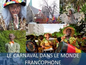 Mini Cultural Reading Unit (Novice range): Le Carnaval dans le monde francophone