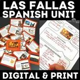 Mini Cultural Unit: Las Fallas in Spanish Class - Distance