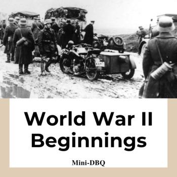 Mini-DBQ: Beginning of  World War II