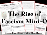 Mini-DBQ Worksheet: Rise of Fascism