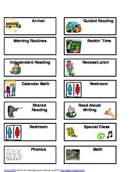 Mini Daily Agenda Cards