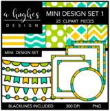 Mini Design Clipart Set: 1 {A Hughes Design}