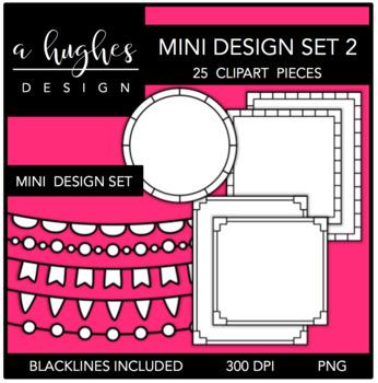 Mini Design Clipart Set: 2 {A Hughes Design}