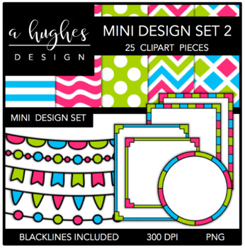 Mini Design Set 2 {Graphics for Commercial Use}