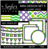 Mini Design Clipart Set: 5 {A Hughes Design}