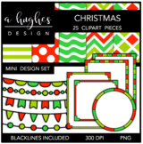 Mini Design Set Christmas {Graphics for Commercial Use}