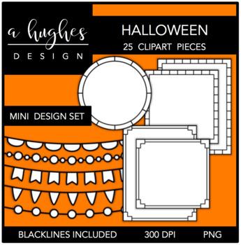 Mini Design Clipart Set: Halloween {A Hughes Design}