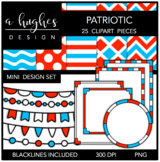 Mini Design Clipart Set: Patriotic {A Hughes Design}
