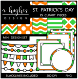 Mini Design Clipart Set: St. Patrick's Day {A Hughes Design}