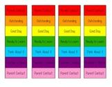 Mini Desk Behavior Clip Charts