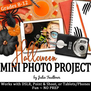 Mini Digital Photography Project Halloween Themed Activity