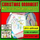 Christmas Ornaments | Mini-Dodecahedron Project | Holiday