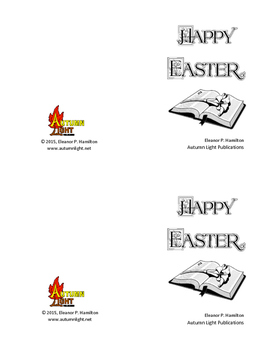 Mini Easter Activity Booklet