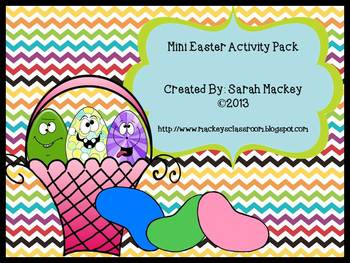 Mini Easter Activity Pack {Common Core Aligned}