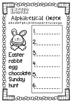 Mini Easter ~FREEBIE~